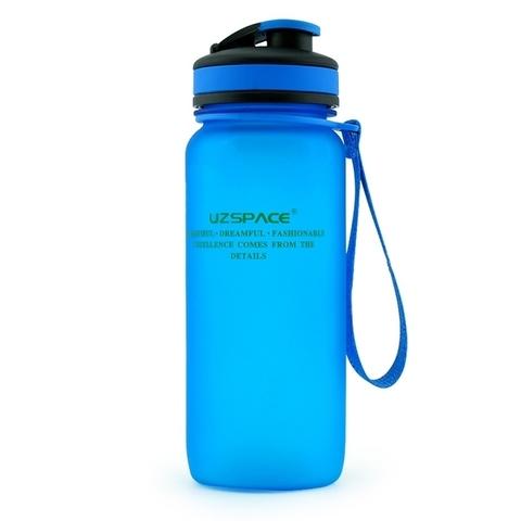 Бутылка для воды Uzspace (матовый синий), 650 мл