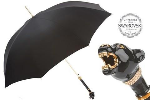 Зонт-трость Pasotti-479 6768-1 K1 Black Panther