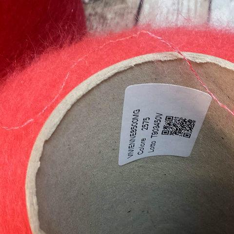 Мохер на шелке SESIA / VIVIENNE 850 розово-коралловый
