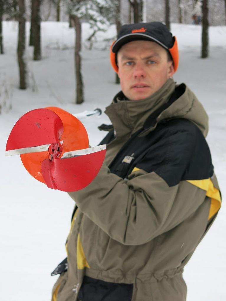 Ледобур Heinola SpeedRun CLASSIC
