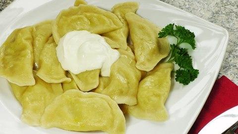 Вареники картошка+грибы  замороженные, вкусно по-домашнему