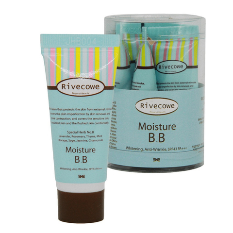 Тональный крем RIVECOWE Beyond Beauty Moisture BB SPF 43 РА+++ 5 мл