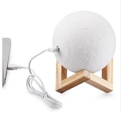 декоративный светильник ночник лампа луна шар 3D купить