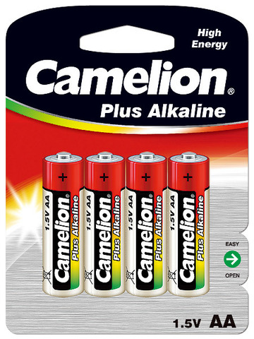 Батарейки Camelion Alkaline LR6, AA (4/48) BL