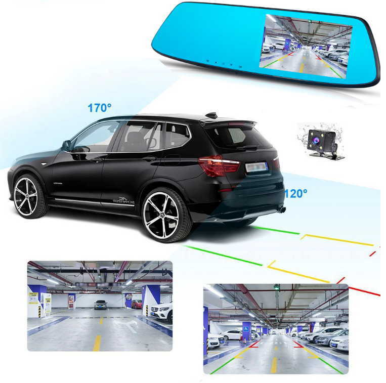 HD Touch Dual Lens Driving Recorder