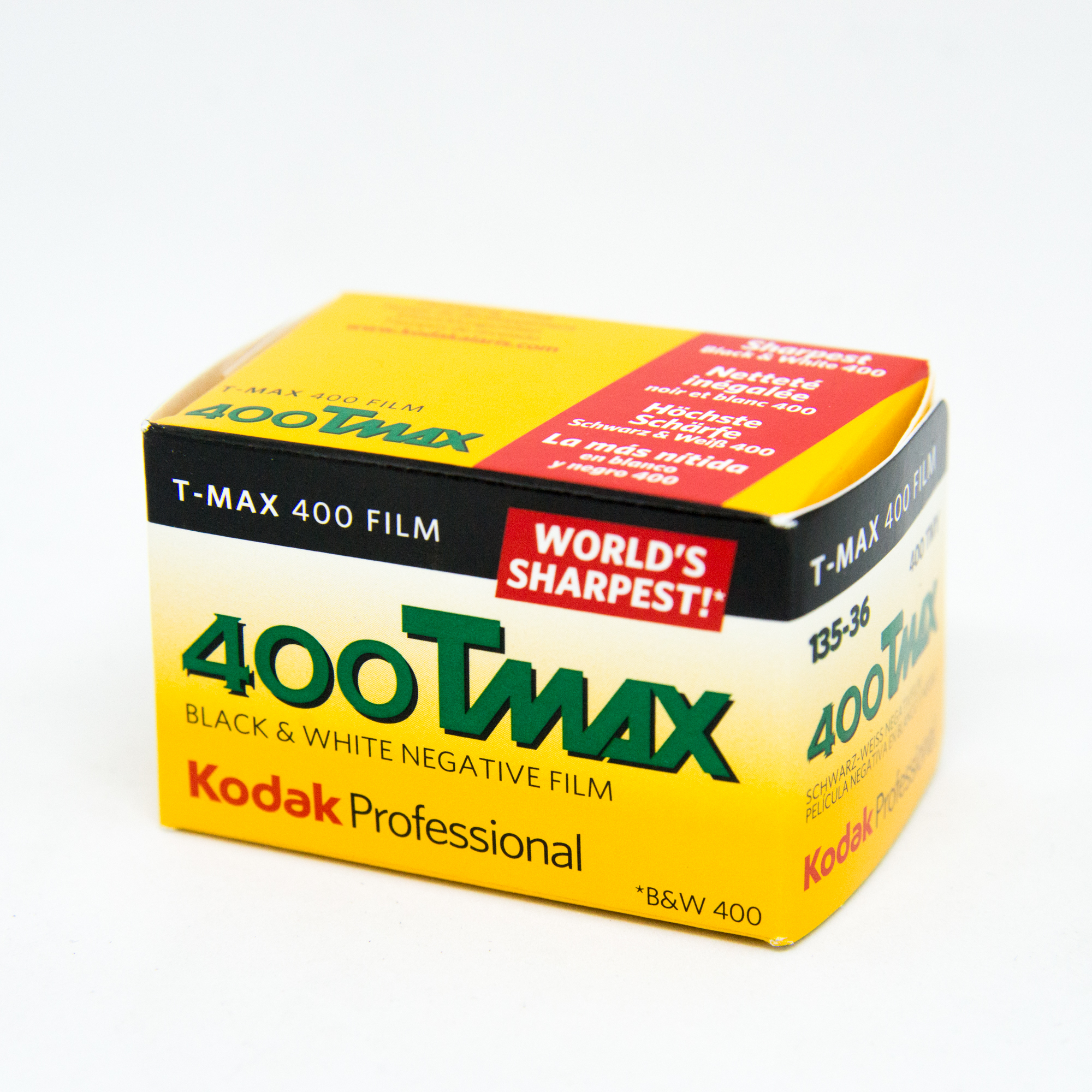 Фотопленка Kodak T-Max 400/135-36