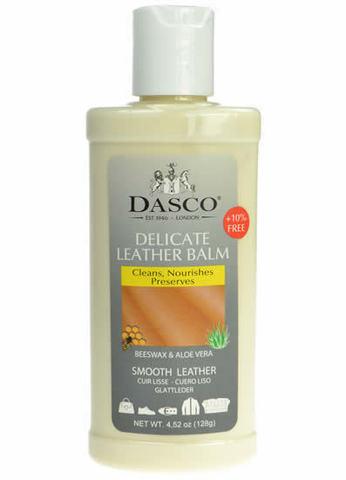 Бальзам для гладкой кожи, Dasco DELICATE LEATHER BALM, пласт. флакон, 135мл. (бесцветный)