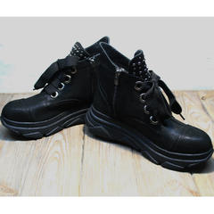 Ботинки женские осень Rifellini Rovigo 525 Black.