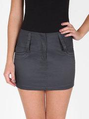 10-0520-2 юбка темно-серая