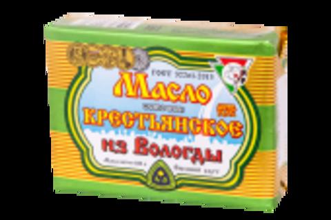 Масло Сливочное Крестьянское из Вологды 82,5%, 180 г
