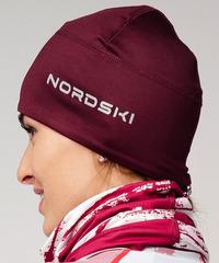 Лыжная шапка Nordski Warm Wine