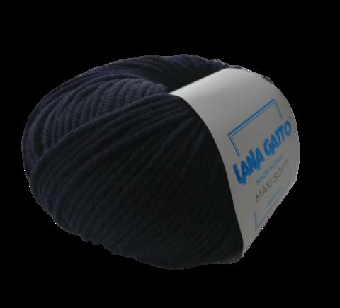 Пряжа Lana Gatto Maxi Soft 10214 темно-синий