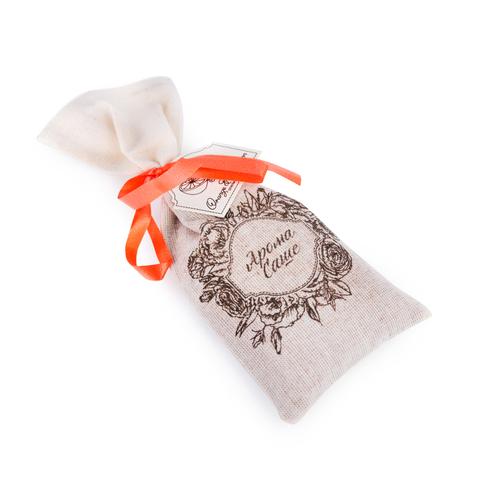Аромасаше ОRANGE&CINNAMON (апельсин и корица), в тканевом мешочке, TM Aromatte
