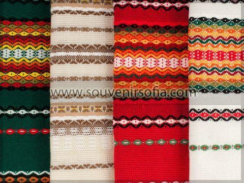 Традиционная болгарская скатерть 140х200