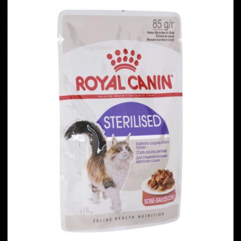 Royal Canin Sterilised (в соусе) 85 г * 12 шт.