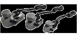 Ремнабор для застежек-молний Zipper repair (комплект 3 размера) Silver