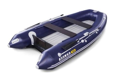 Надувная ПВХ-лодка Солар Оптима - 350 (синий)
