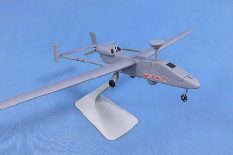 Модель самолета БПЛА Форпост (М1:48, УЗГА)