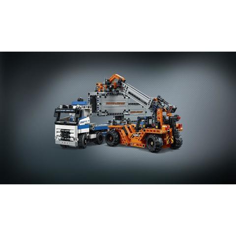 LEGO Technic: Контейнерный терминал 42062 — Container Yard — Лего Техник