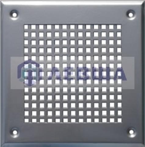 Решётка 180х250 мм, перфорация крупный квадрат