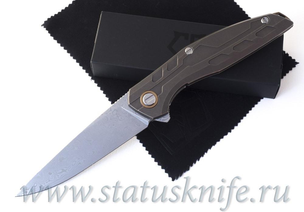 Нож Широгоров 111 TiBr Damascus Custom Division