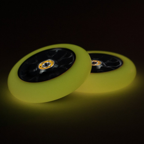 Колесо для самоката EAGLE Standard Line X6 Glow In The Dark (Yellow)