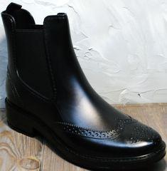 Ботинки резиновые женские W9072Black.