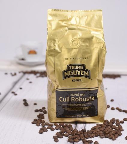 Кофе в зёрнах Trung Nguyen Culi Robusta, 1 кг
