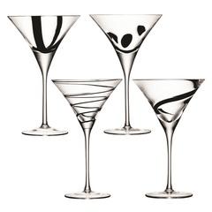Набор из 4 бокалов для коктейлей Jazz, 250 мл, фото 1