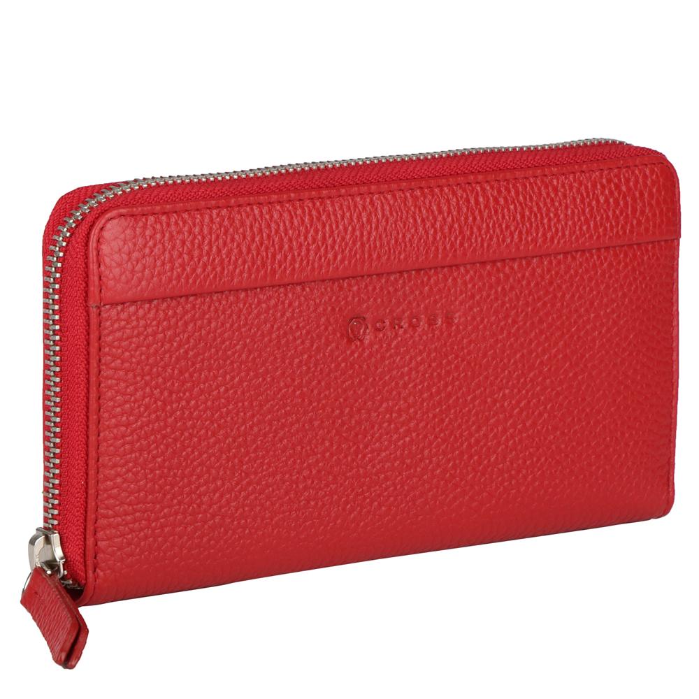 Красный большой женский кошелёк-клатч 20х10х2см Colors Rosso CROSS AC3138287_5-8