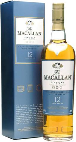 Виски Macallan Fine Oak 12 Years Old, with box, 0.5 л
