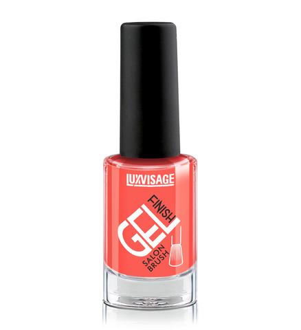 LuxVisage Gel Finish Лак для ногтей тон 05 (оранжевый) 9г