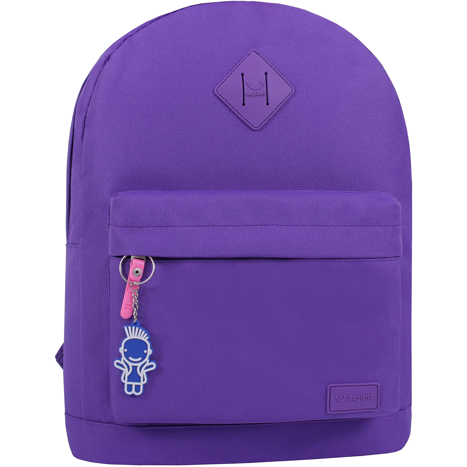 Городские рюкзаки Рюкзак Bagland Молодежный W/R 17 л. фиолетовый 170 (00533662) IMG_0782.JPG