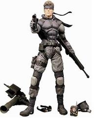 Метал Гир фигурка Солид Снейк — Metal Gear Solid Solid Snake