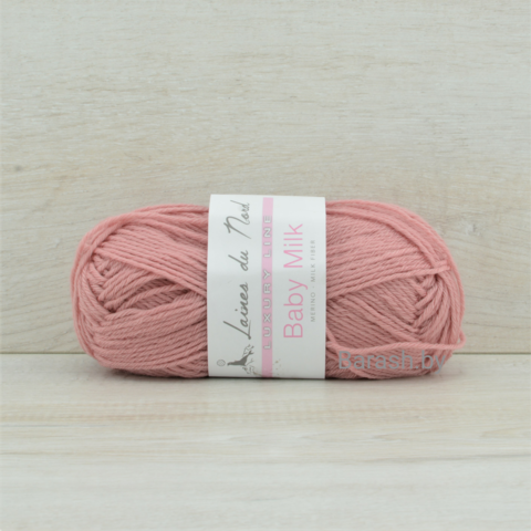 Пряжа Baby Milk (Бэби милк) Пепельно-розовый