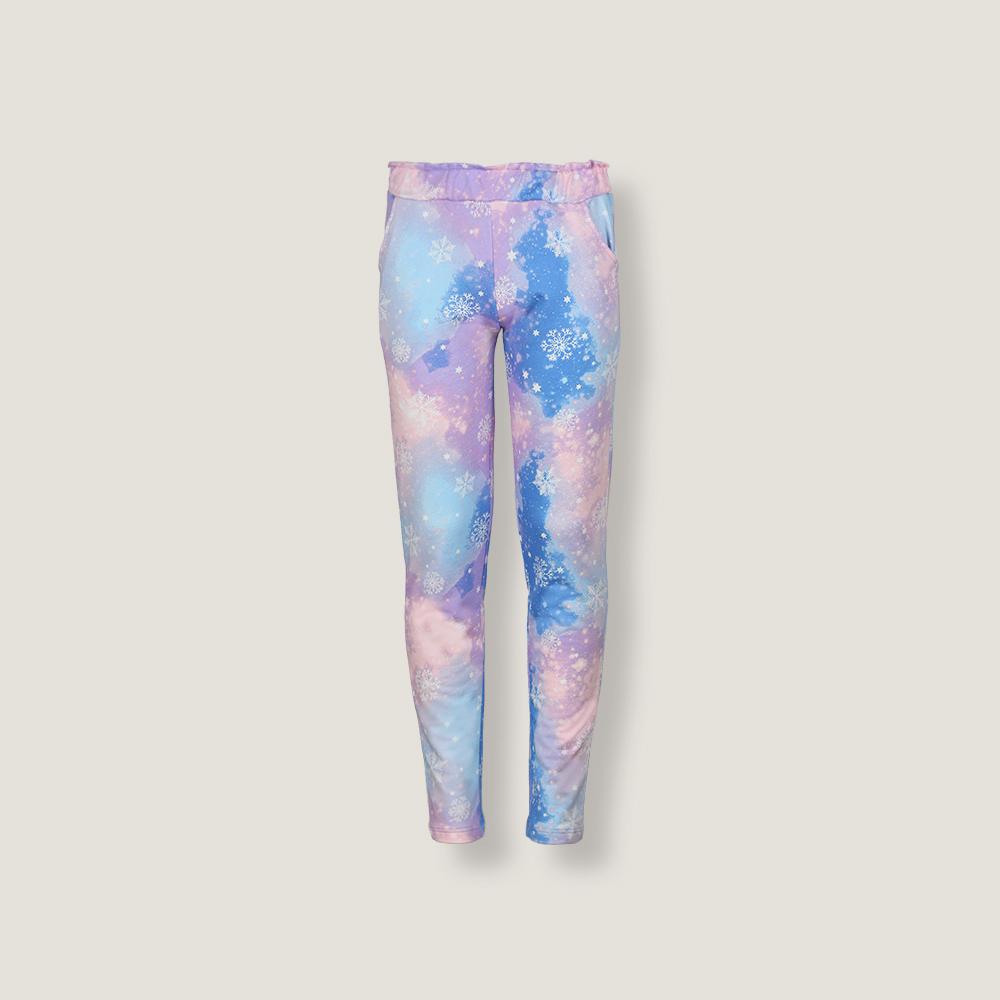 Детские женские брюки пижамные E19K-74D101
