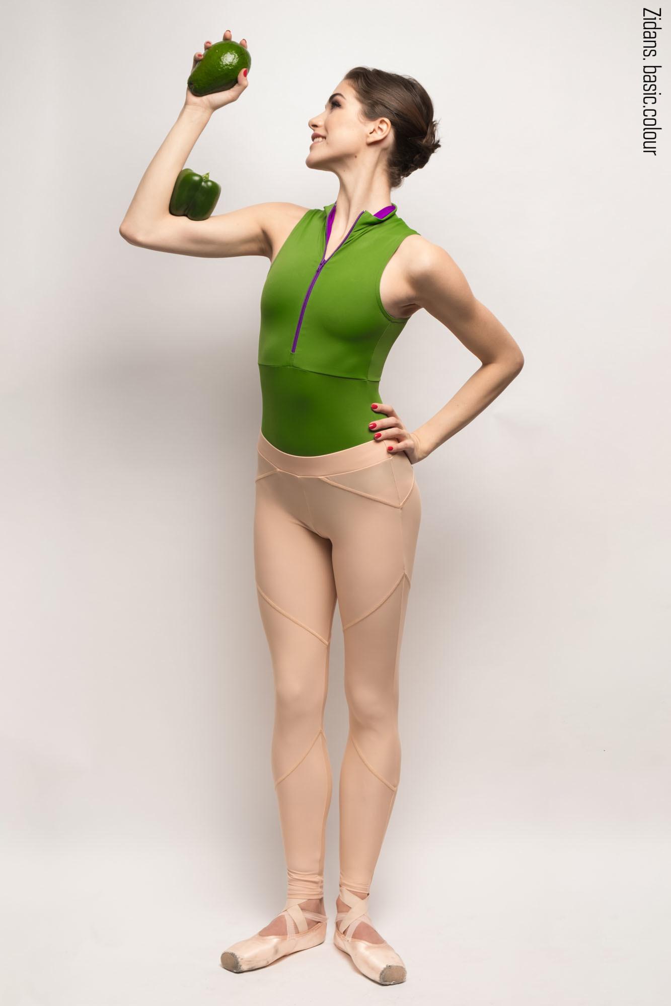 Zi'ggins leggings   nude
