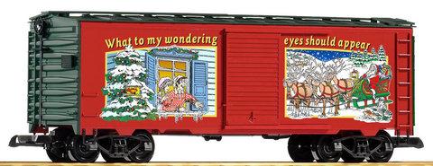 Piko 38834 Рождественский грузовой вагон, 1:22,5