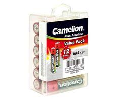Батарейки Camelion Alkaline LR03, AAA (12/240)