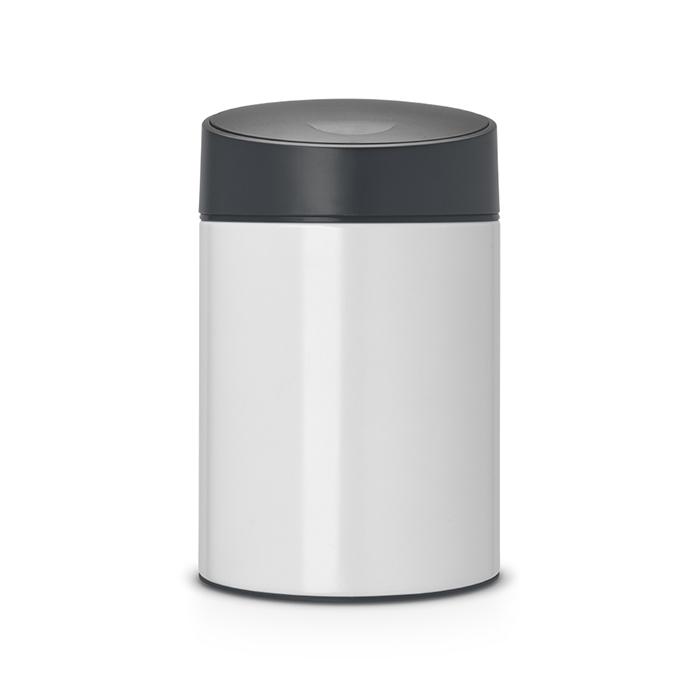 Мусорный бак Slide Bin (5 л), Белый, арт. 483165 - фото 1