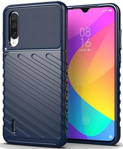 Чехол Xiaomi Mi 9 Lite (A3 Lite, CC9) цвет Blue (синий), серия Onyx, Caseport