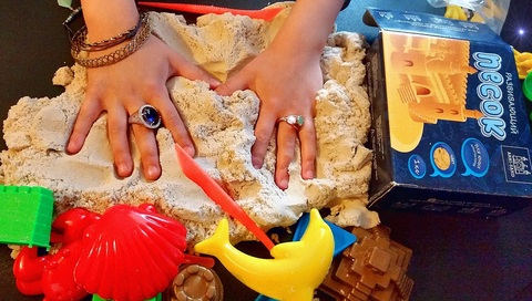 Кинетический песок Arhi-Sand, 1 кг