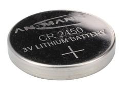 Батарейка литиевая CR2450 ANSMANN 3V