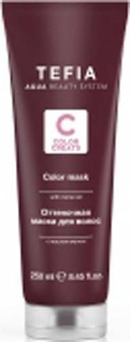 Оттеночная маска для волос с маслом монои Пудровая, Tefia Color, 250 мл.