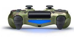 PS4 Беспроводной контроллер DualShock 4 (камуфляж зеленый, CUH-ZCT2/E16R)