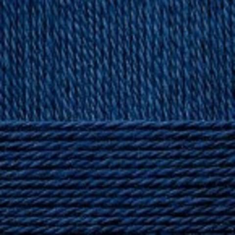 Пряжа Народная (Пехорка) 571 синий, фото