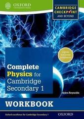 Cambridge Checkpoint Science Secondary 1, Physics, Workbook Oxford University Press