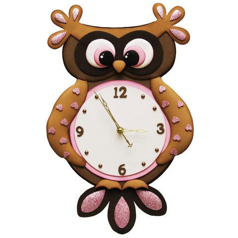 Часы из фоамирана
