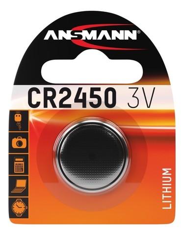Батарейка CR 2450 ANSMANN 3V (Premium)