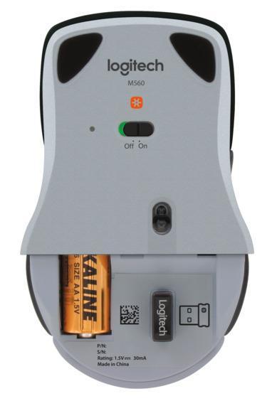Logitech M560 silver